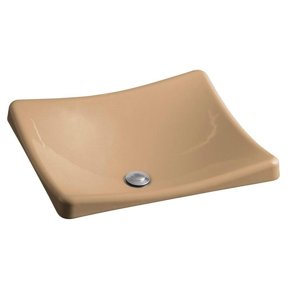 KOHLER Demilav Wading Pool Vessel Sink in Mexican Sand