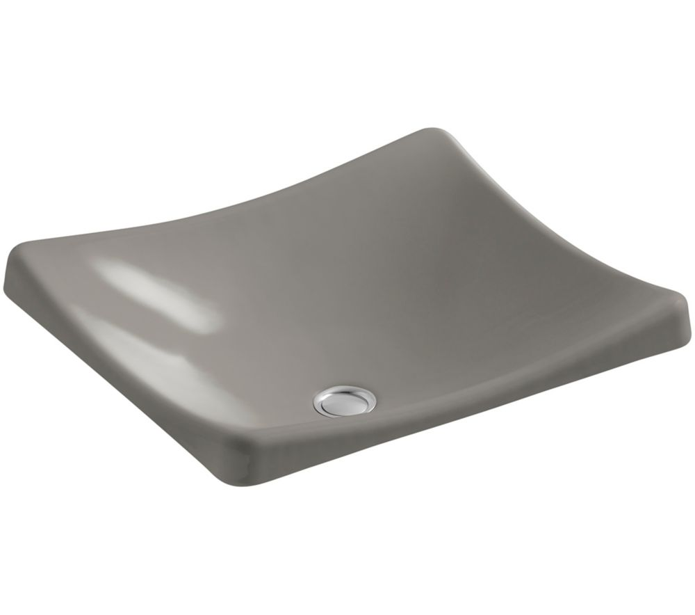 Demilav Wading Pool Vessel Sink in Cashmere