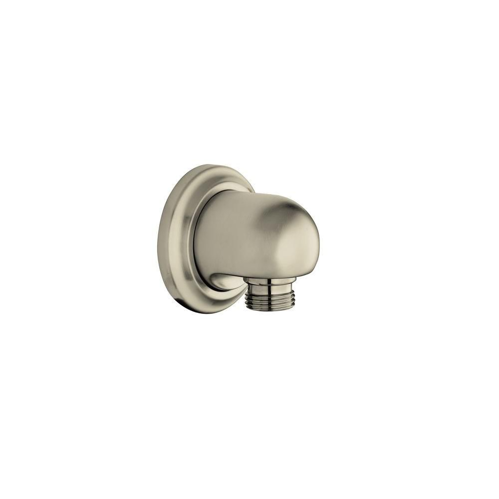 Bancroft Supply Elbow in Vibrant Brushed Nickel