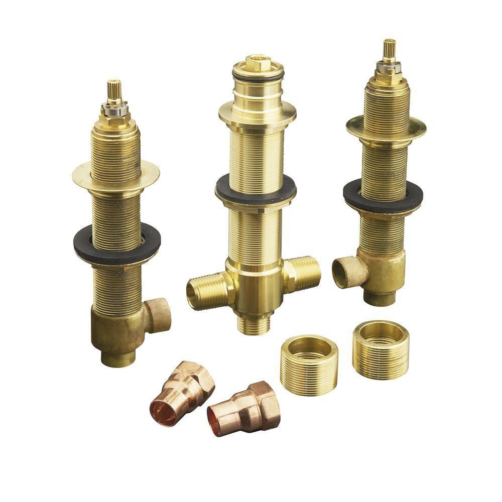 Système de valve High-flow 1/2 po avec inverseur