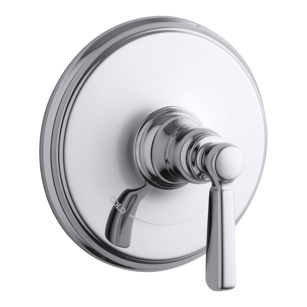 Bancroft Single-Handle Thermostatic Faucet with Lever Handle in Polished Chrome