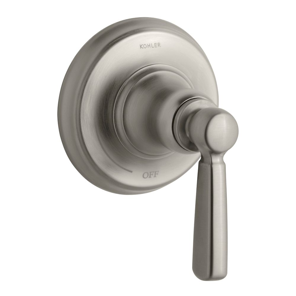 KOHLER Bancroft Volume Control Trim, Valve Not Included in Vibrant Brushed Nickel
