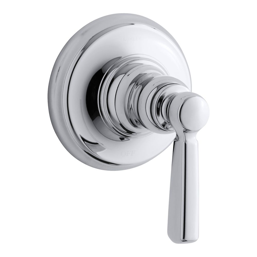 Bancroft Volume Control Trim, Valve Not Included in Polished Chrome