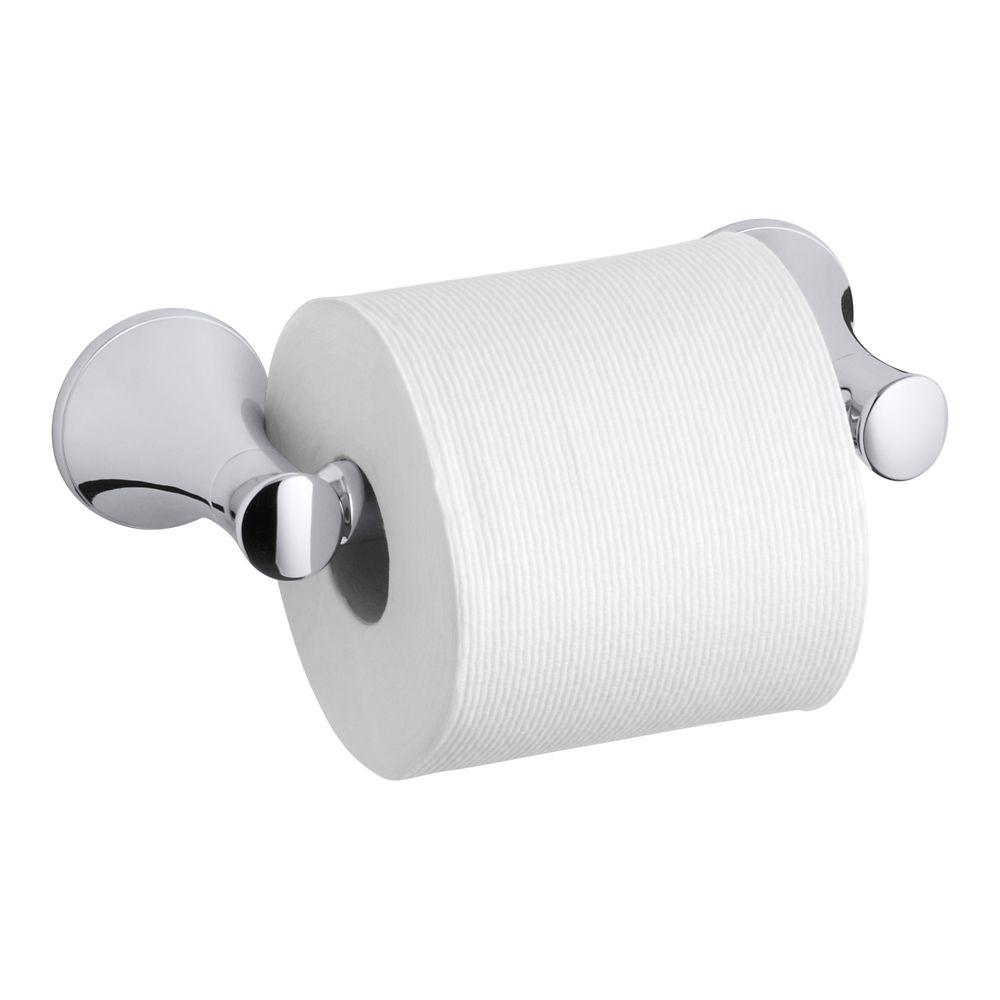 Coralais Toilet Tissue Holder in Polished Chrome