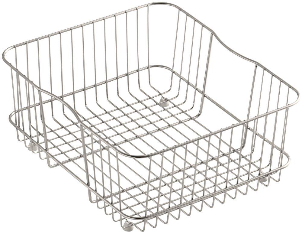 KOHLER Coated Wire Rinse Basket in Stainless Steel