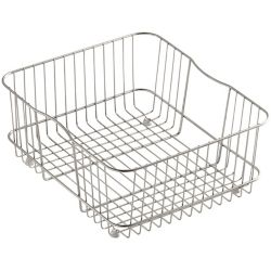 KOHLER Coated Wire Rinse Basket in Stainless Steel