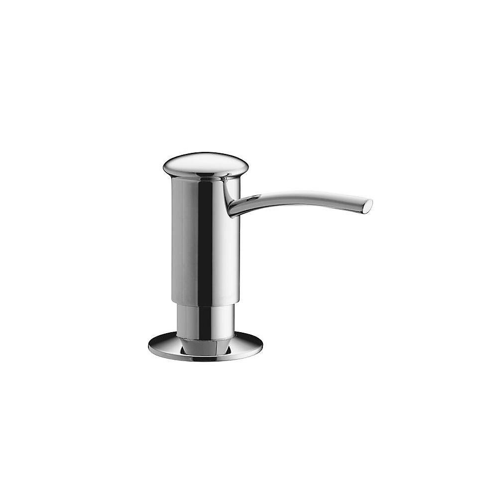 Soap/Lotion Dispenser With Contemporary Design (Clam Shell Packed) in Polished Chrome