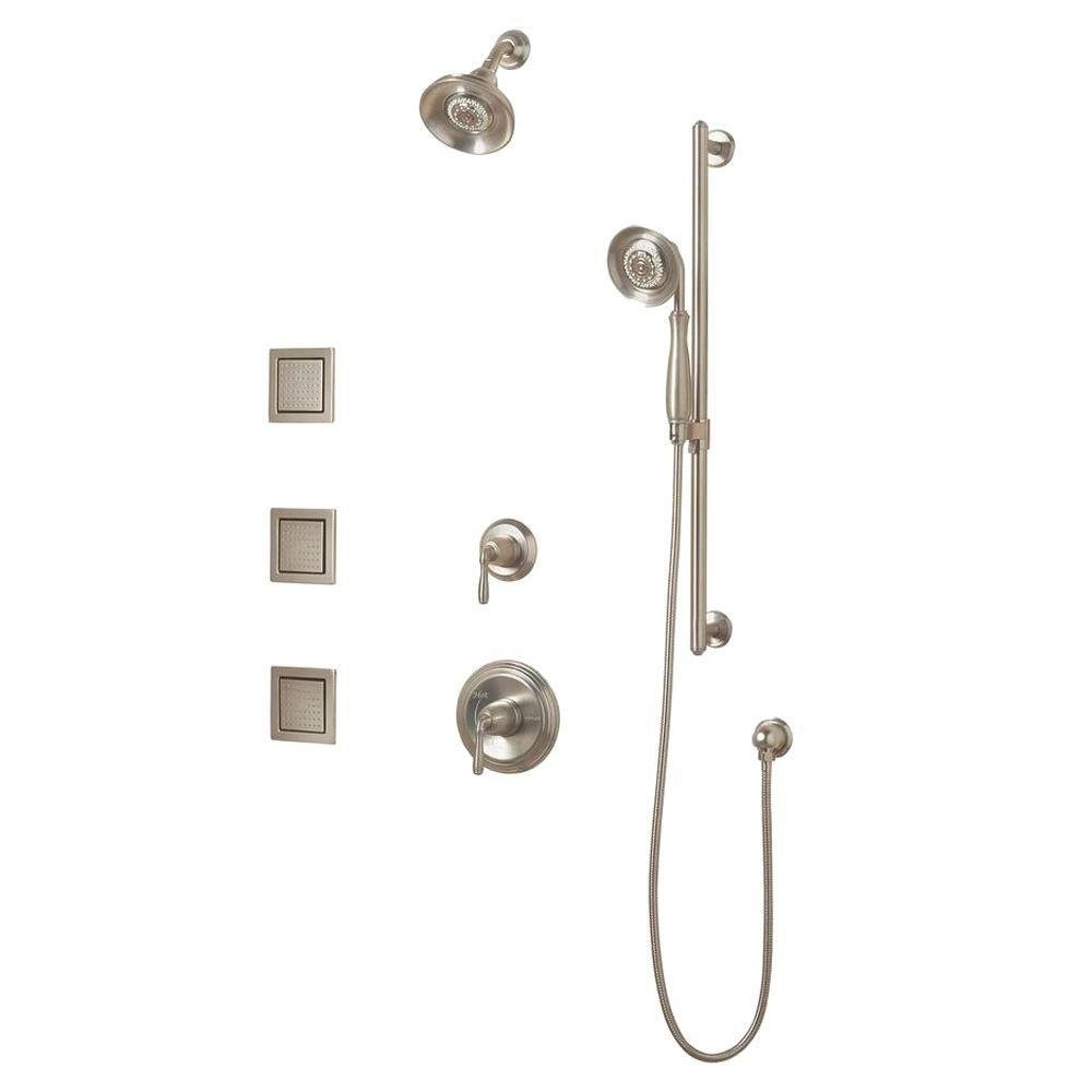 KOHLER Devonshire Luxury Performance Shower Faucet with Showerhead in Vibrant Brushed Nickel