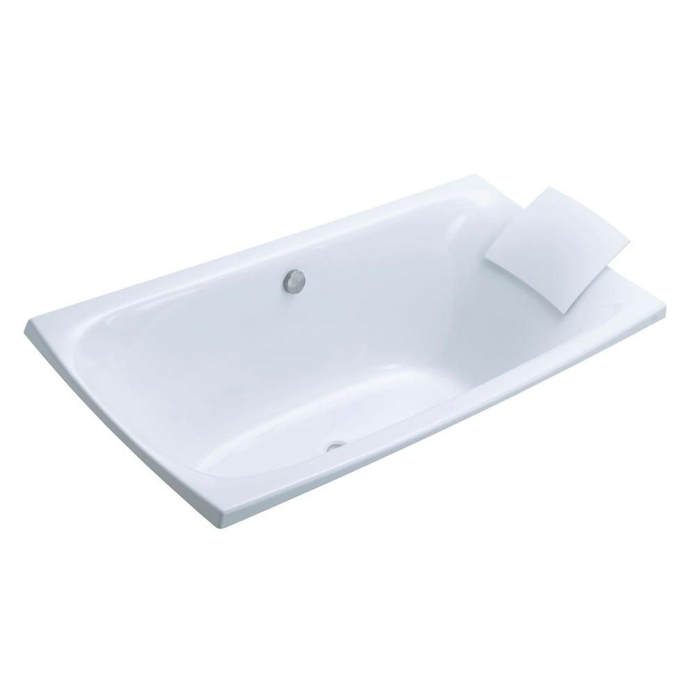 Escale Drop-in Bath in White K-11343-0 Canada Discount