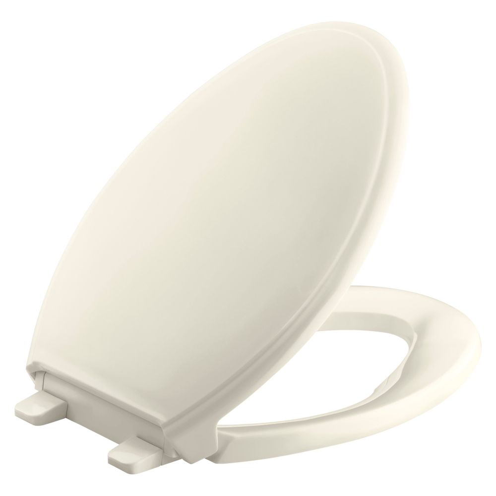 Glenbury� Quiet-Close� Elongated Toilet Seat in Almond