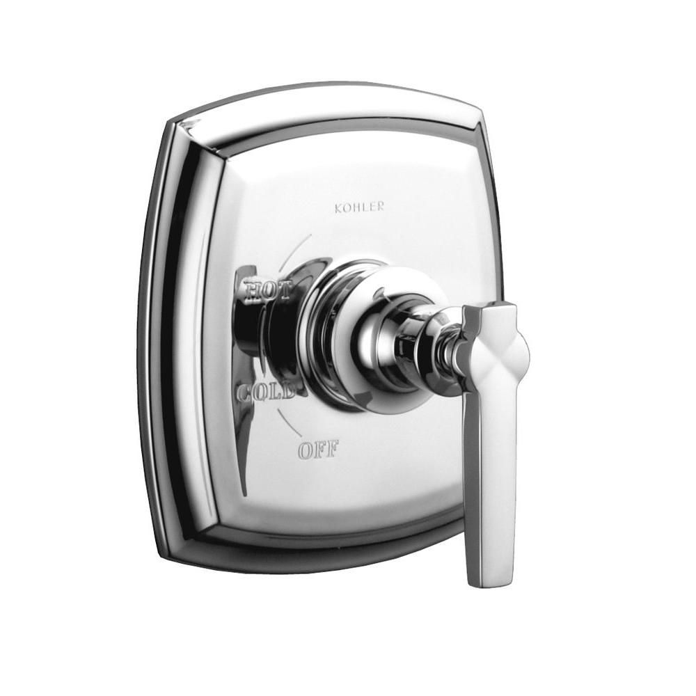 Margaux Rite-Temp Pressure-Balancing Valve Faucet Trim, Valve Not Included in Polished Chrome
