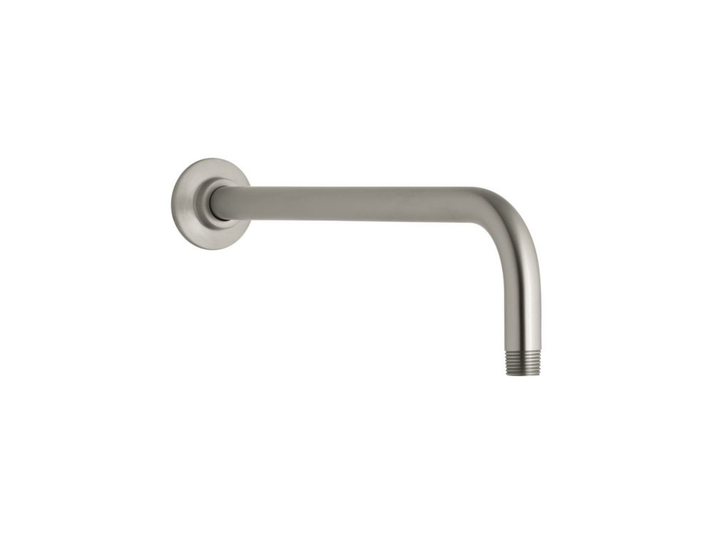 KOHLER Right Angle Shower Arm in Vibrant Brushed Nickel