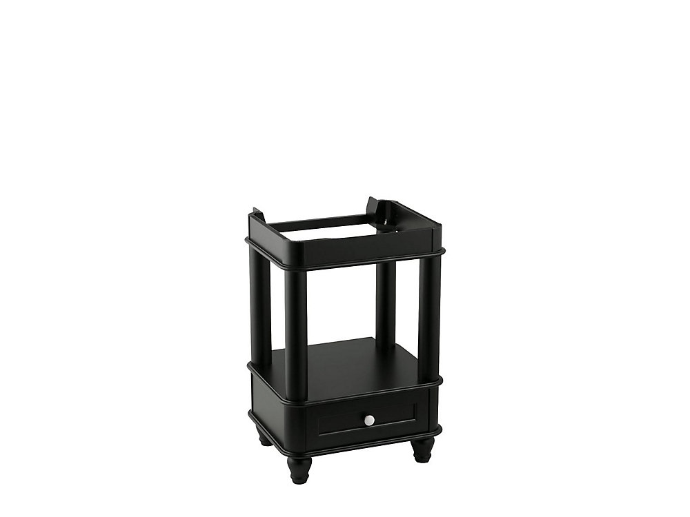 Bancroft Petite 24-Inch  W by 21-Inch  D Vanity Cabinet in Black Forest