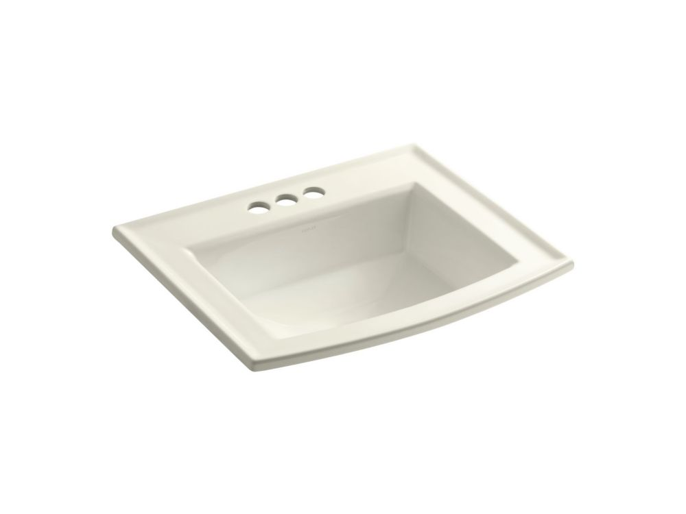 16 Bathroom Sink : ... 22 5/8-inch L x 19 7/16-inch H Self-Rimming Bathroom Sink in Biscuit