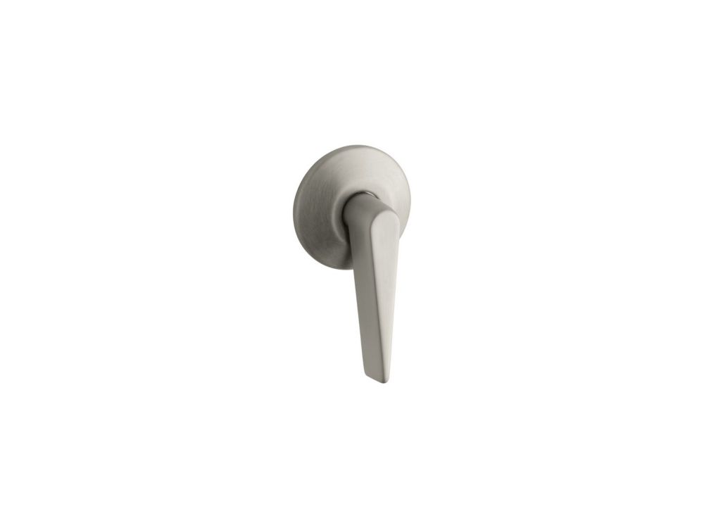 Archer Trip Lever in Vibrant Brushed Nickel