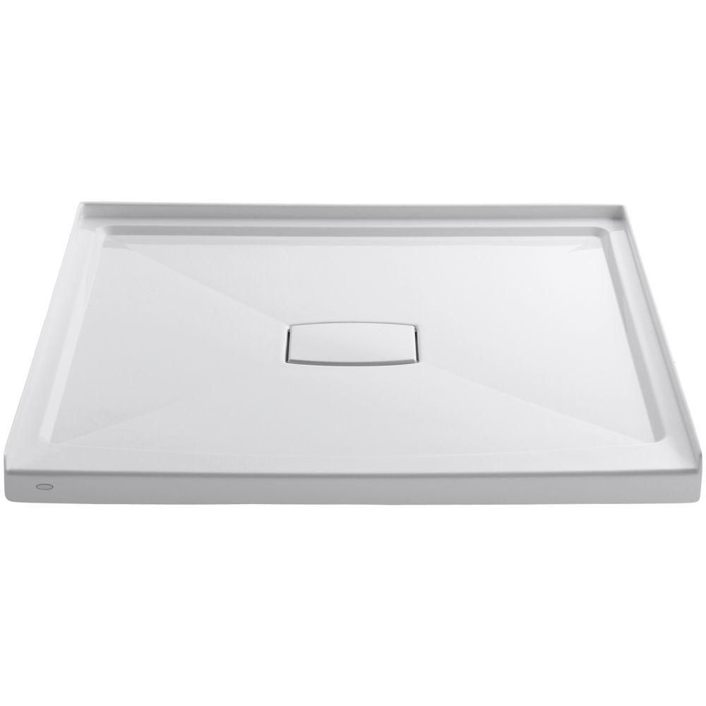 KOHLER Archer 48-inch x 48-inch Single Threshold Shower Base in White