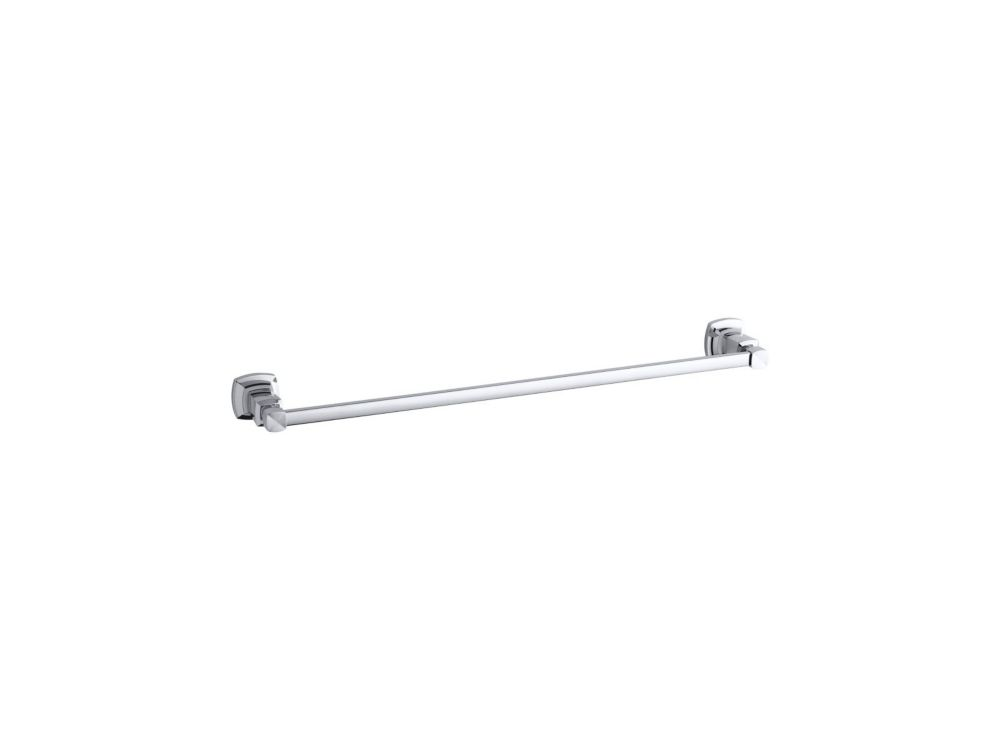 Margaux 24 Inch Towel Bar in Polished Chrome
