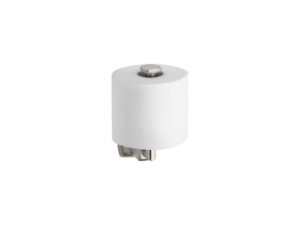 Margaux Vertical Toilet Tissue Holder in Vibrant Brushed Nickel