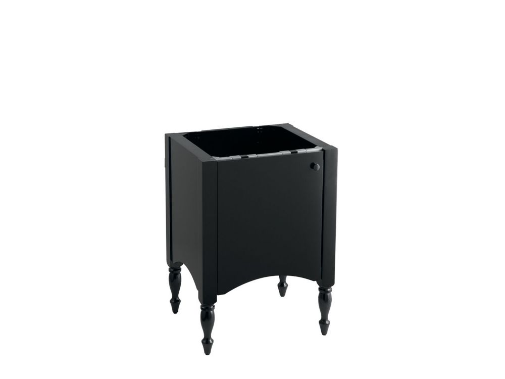 Alberry 24-inch W Vanity in Cinder Finish