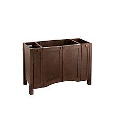 Westmore 48-inch W Vanity in Brown