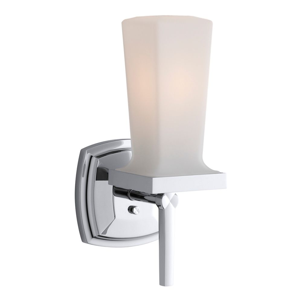 KOHLER Margaux Single Wall Sconce in Polished Chrome