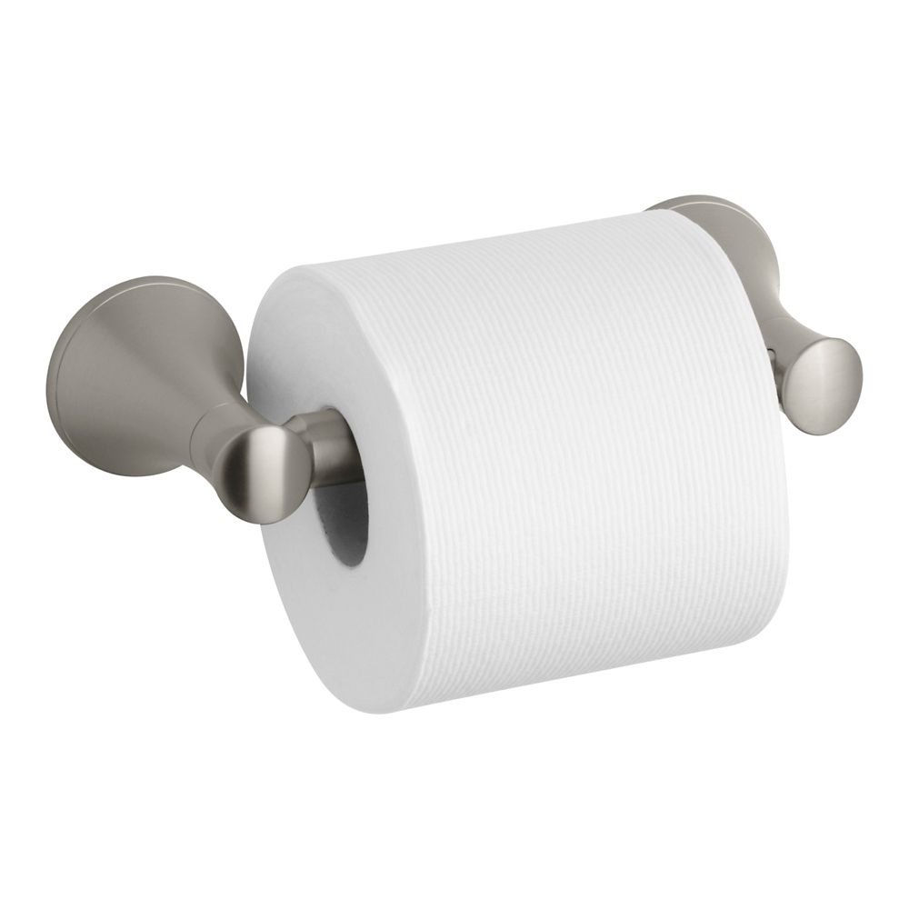 Coralais Toilet Tissue Holder in Vibrant Brushed Nickel