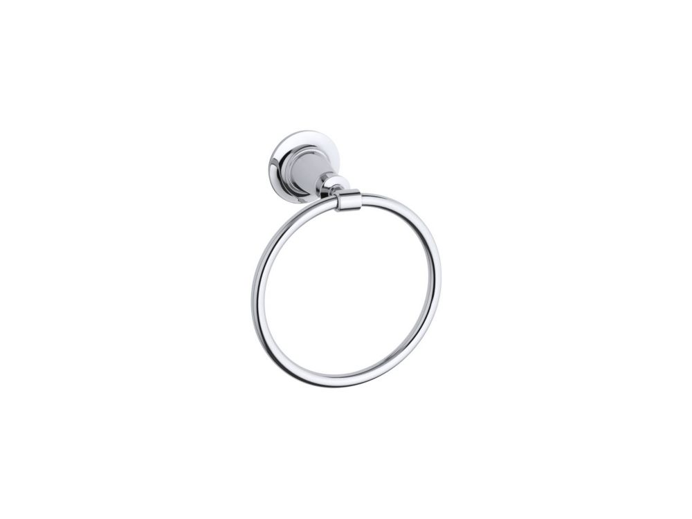 Archer Towel Ring in Polished Chrome