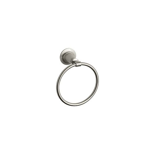 KOHLER Archer Towel Ring in Vibrant Brushed Nickel