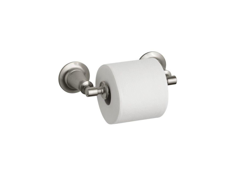 Archer Toilet Tissue Holder in Vibrant Brushed Nickel