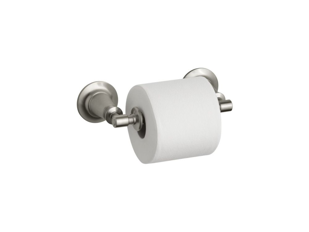 Archer Toilet Tissue Holder in Vibrant Brushed Nickel