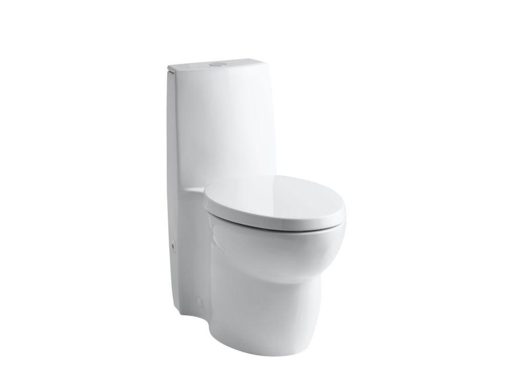 KOHLER Saile 3 6 LPF 1-Piece Dual-Flush Elongated Bowl Toilet in White