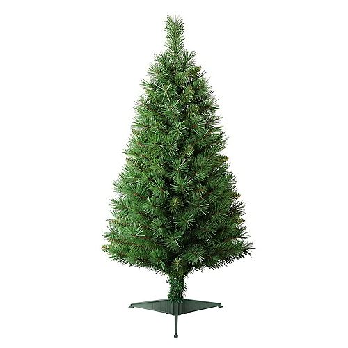 Home Accents 3 ft. Tacoma Pine Artificial Christmas Tree