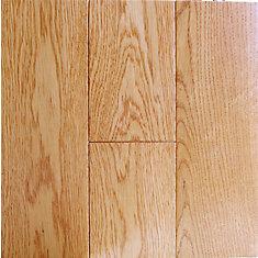 Plancher, bois massif, Chêne blanc Connexion Amber
