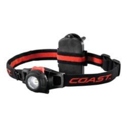 Coast HL6 LED Portable Headlamp with Dimming Function - 181 Lumens