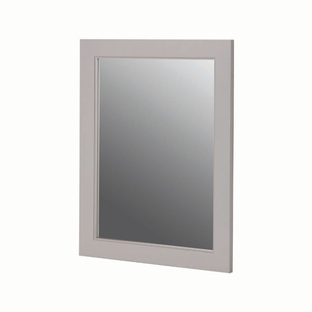 Seal Harbor 23 Inch x 28 Inch Wall Mirror in Sharkey Grey