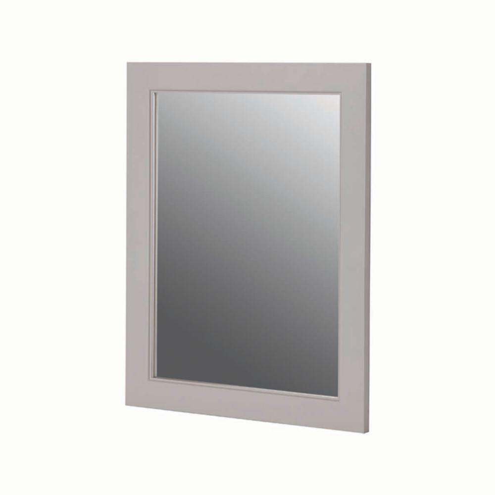 Seal Harbor 23 Inch x 28 Inch Wall Mirror in Sharkey Grey