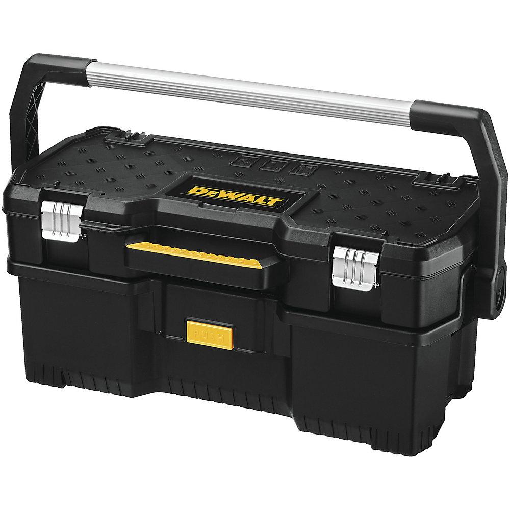 Fourre-tout 2-en-1 de 24 po avec étui amovible pour outils électriques