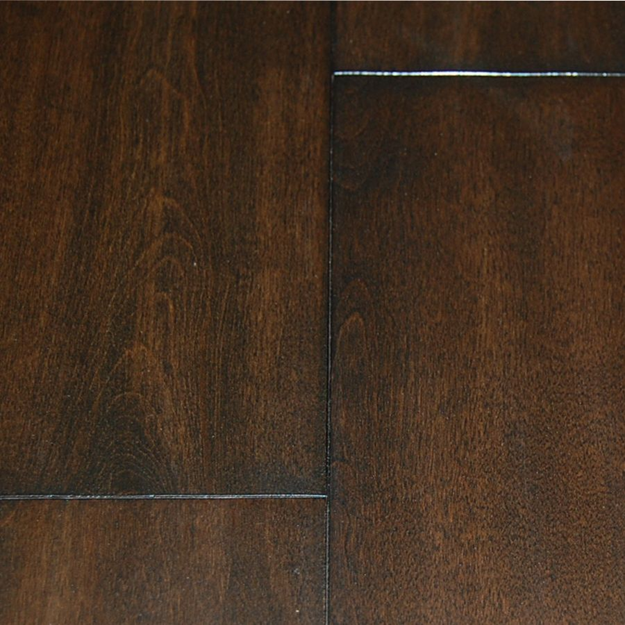 Walnut Birch 4-3/4-inch x 3/4-inch Handscraped Hardwood Flooring (22.81 sq. ft. / case)