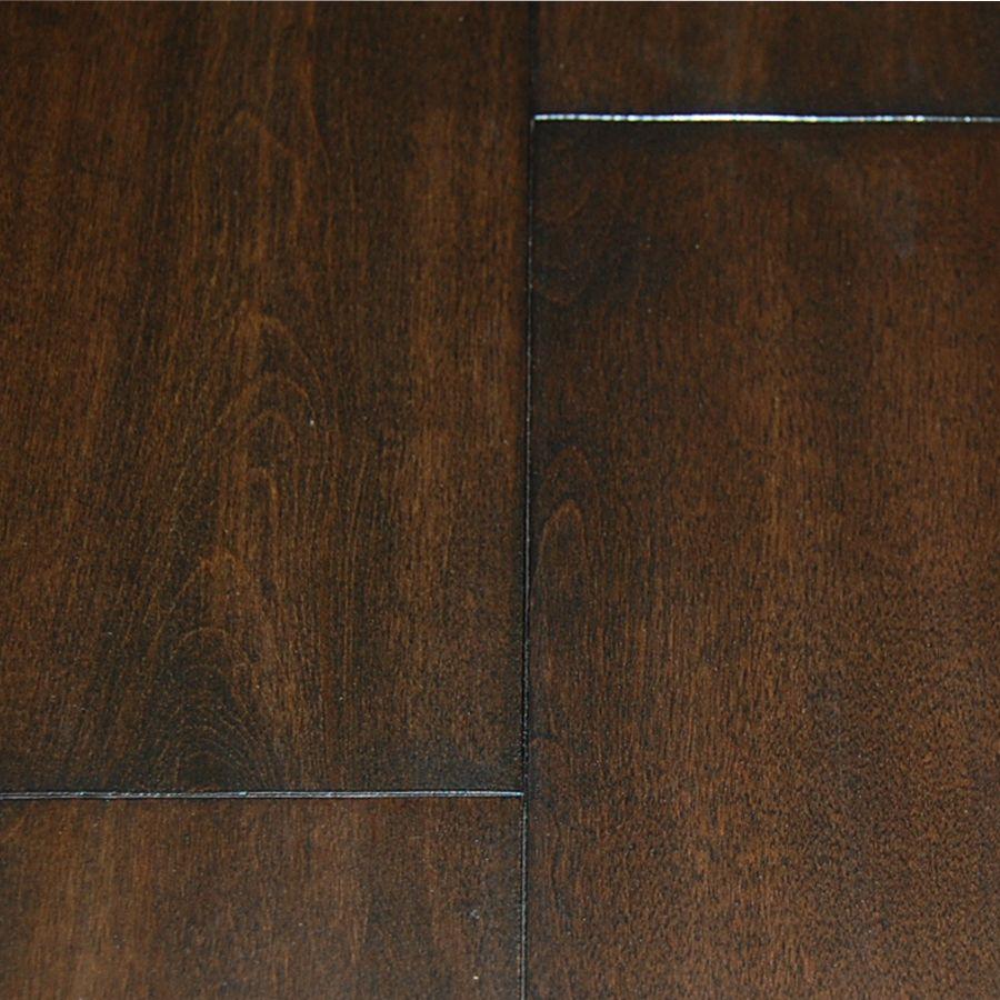 Walnut Birch 4-3/4-inch x 3/4-inch Handscraped Hardwood Flooring (22.81 sq. ft. / case)