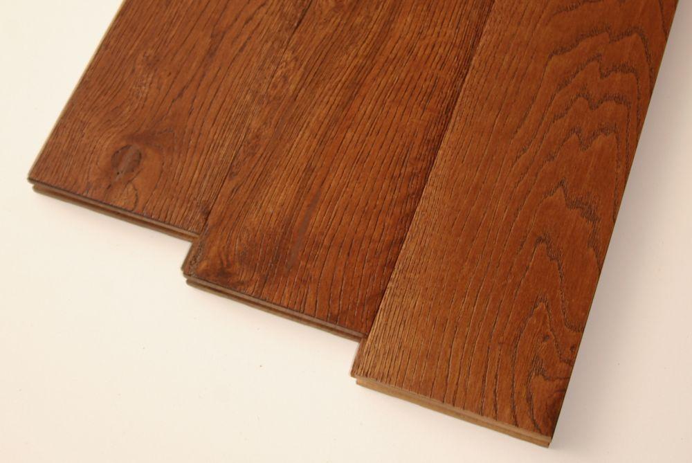 Goodfellow Wire Brushed Hazelnut White Oak 3/4-inch Thick x 5-inch W Hardwood Flooring (22.81 sq. ft. / case)