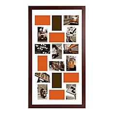 Memoirs Walnut Collage Frame