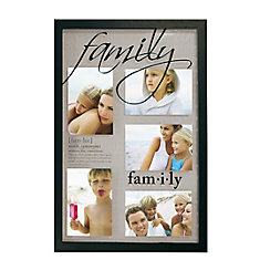 Traditions Family Black Frame