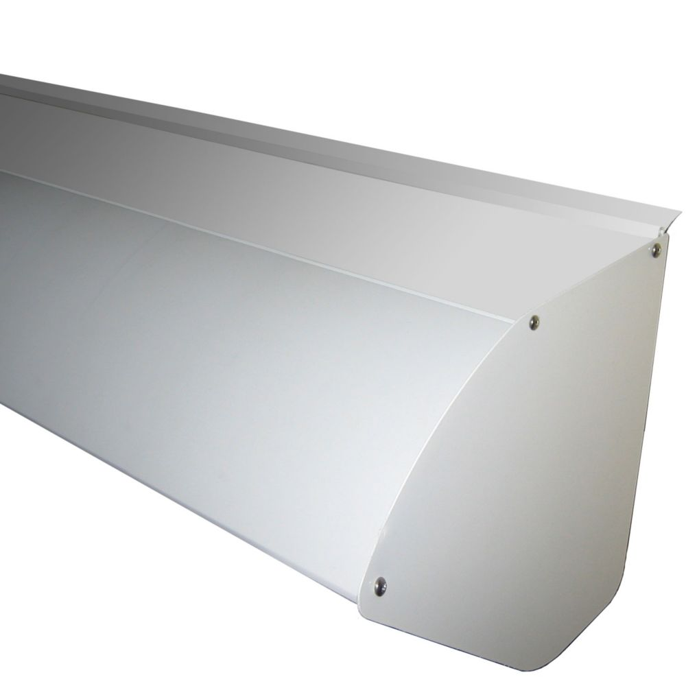 Protective Aluminum Hood For 12 Ft. Wide Retractable Awning