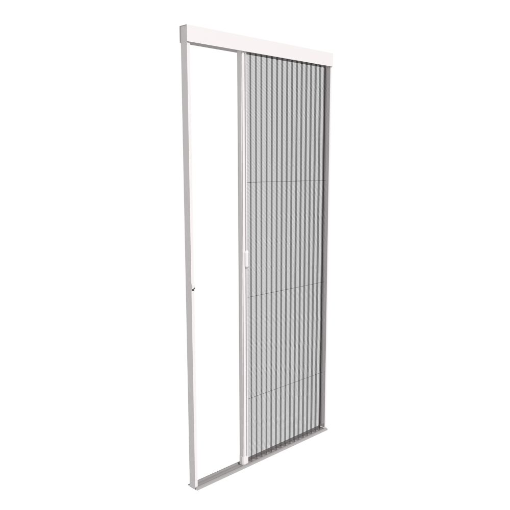 Phantom screens viewpoint retractable screen door the for Sliding screen door canada