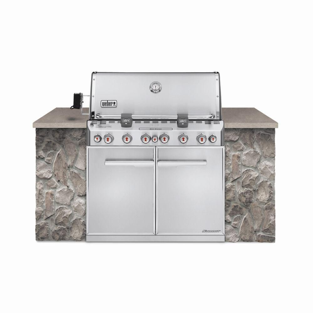 Weber S 660 >> Weber Summit® S-660 Built-In Gas BBQ | The Home Depot Canada