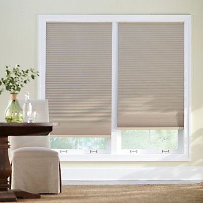 Home decorators collection 23 inch x 48 inch sahara blackout cordless cellular shade the home depot canada