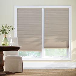 Home Decorators Collection Store alvéolaire obscurité totale sans cordon sahara 91,44 cm L x 1,82 m H
