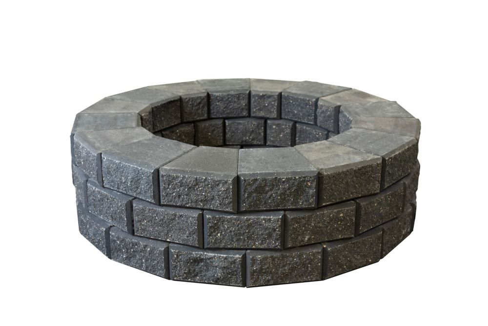 Charcoal Oasis Circle Fire Pit