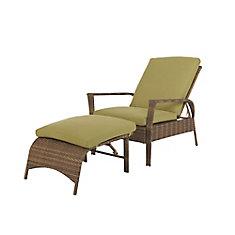 Charlottetown fauteuil à 2 pièces en osier