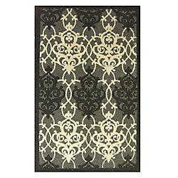 Lanart Rug Chandelier Grey 2 ft. 4.5-inch x 4 ft. 1-inch Indoor Contemporary Rectangular Mat